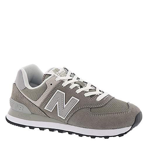 - New Balance WL574 Women's Classic Running Shoe, Size: 7 Width: B Color: Grey/White