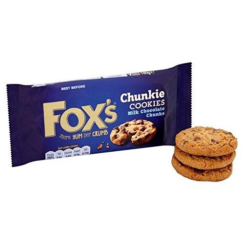 Fox's Delicious Cookies Milk Chocolate Chunks – 175g