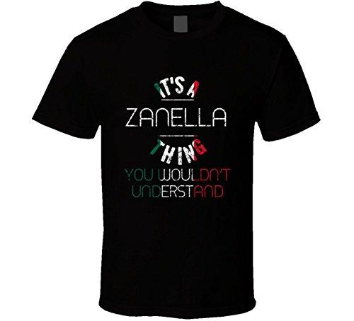 yeoldeshirtshop It's a Zanella Thing Wouldn't Understand Italian Name Distressed T Shirt XL (Zanella Italian)
