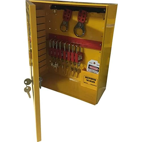 KRM LOTO – OSHA LOCKOUT TAGOUT CABINET STATION - WITH MATERIAL ...