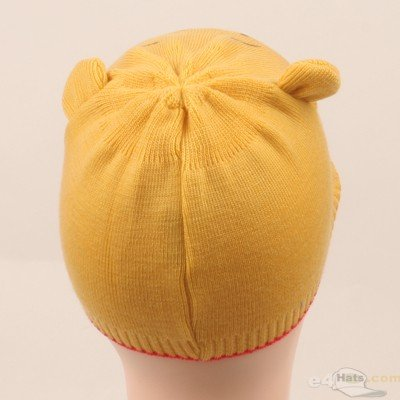 UBI//NYH Pooh Beanies-Red Yellow