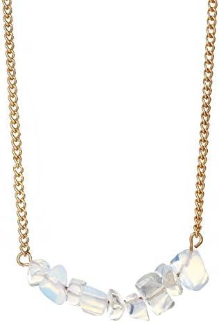 Layered Necklace Crystal Minimalist Jewellry