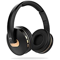 VEENAX BT1610 On-Ear Wireless Bluetooth Headphones, Rechargeable Folding with Built-in Mic for Cell Phone and Bluetooth Devices