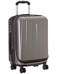 Delsey Luggage Helium Shadow 3.0 19 Inch International Carry-On Expandable Spinner Suiter Trolley, Platinum, One Size