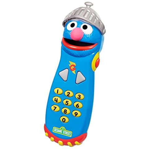 Playskool Sesame Street Super Grover Remote (Push Button Sound Maker)
