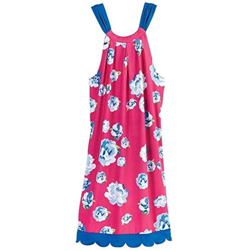 Mud Pie Women's Fashion Natalie Bow Tie Dress Pink Floral (Medium)