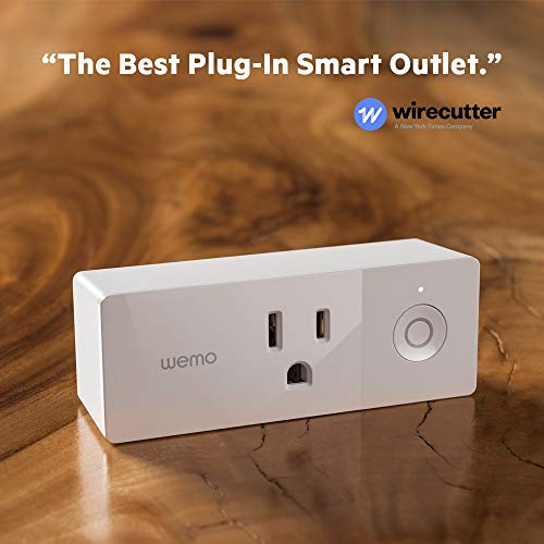 Wemo Mini Smart Plug (2-Pack), Wi-Fi Enabled, Works with Amazon Alexa (F7C063-RM2) (Certified Refurbished) by WeMo (Image #5)