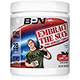 Bare Performance Nutrition | Embrace The Suck Intense Pre-Workout | Trademark Ingredients & Zero Blends (28 Servings, Sour Gummy Candy)