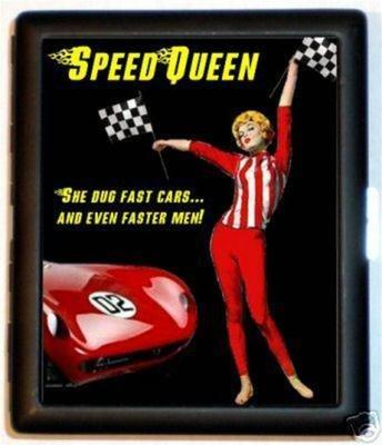 Speed Queen Racing ID Cigarette Case Race Car Fan (Speed Queen Racing)