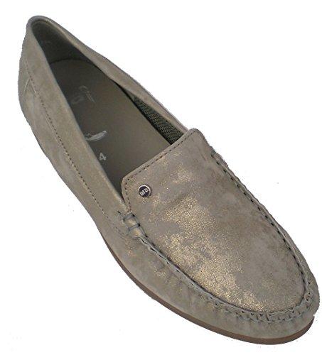 ara Women's Leather Flats Shoes US 9 M (UK 6.5 / EU 40) Chiara (Ara Loafers Suede)