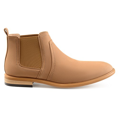 Chelsea Faux Boots Suede Territory Mens Taupe Dixon ZnwaPEXI