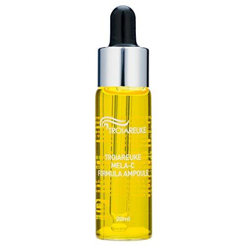 [TROIAREUKE] Formula Ampoule 20ml (0.67fl.oz.) #Yellow-Mela-C/Whitening, Brightening, Vitamin B, Reducing Toxin & Purifying Dull Skin