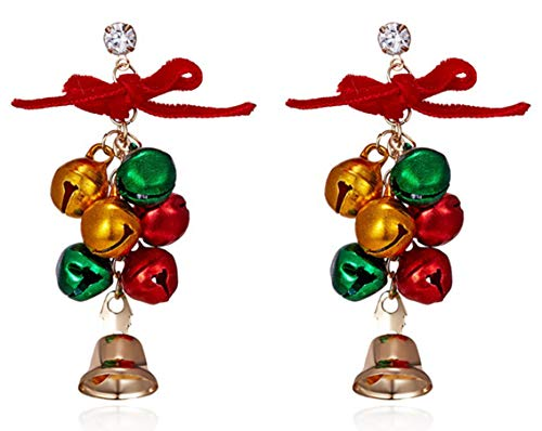 - SAE99 Christmas Collection Dangle Drop Earrings (Christmas Bell)