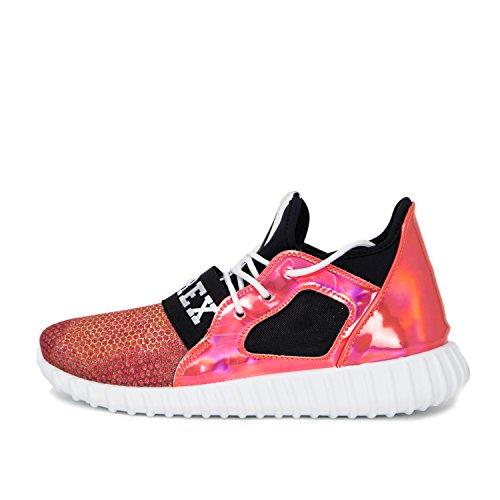 Damen Pyrex Schuhe Esecuzione 18150 Scarpe Da Ginnastica Rosa 37