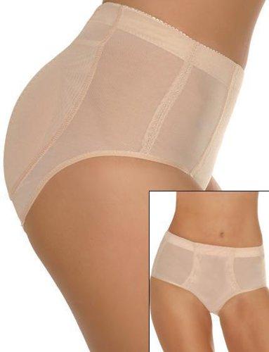 DHStyles Women's Silicone Padded Underwear - Medium - Black