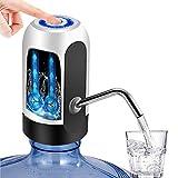Dispensador de Agua Automático, TECHVIDA USB Botella Recargable Agua Potable Bomba de Agua Potable Eléctrica Inalámbrica Bombeo Rápido Botella de Galón Universal Interruptor de Dispensador de la Bomba de Agua