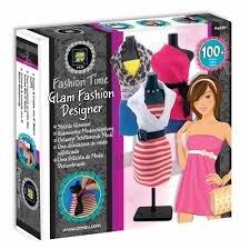 Glam Fashion Designer Fashion Time By Amav Kids Girls Arts Crafts - Warehouse Designer Fashion
