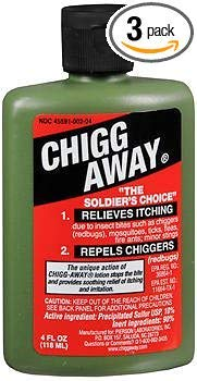 Chigg Away Anesthetic - 4 oz, Pack of 3 by Humco