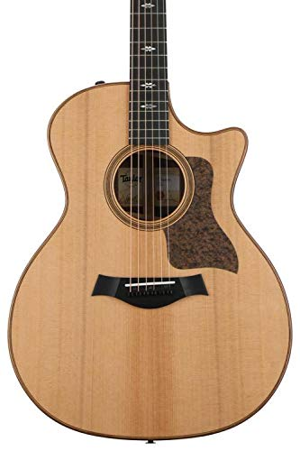 Taylor 714ce V-Class Grand Auditorium Cutaway - Natural Cedar Top