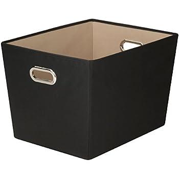 Amazon.com: Honey-Can-Do decorativos lona de almacenamiento ...