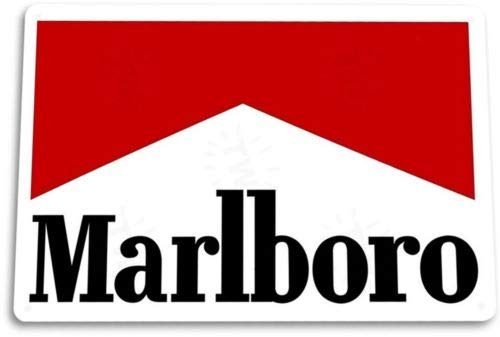 - TIN Sign Marlboro Clean Tin Metal Sign Cigar Smoke Shop Bar Decor