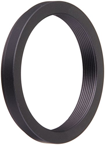 Fotodiox Metal Step Down Ring Filter Adapter, Anodized Black Aluminum 43mm-37mm, 43-37 mm