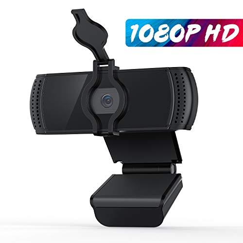 🥇 BOIFUN Webcam 1080P con Micrófono para PC