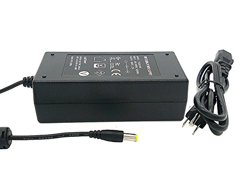 iCreatin 48V 65watt power supply Adapter with 5.5x2.1mm DC jack for PoE injectors and more