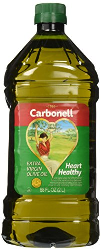 Carbonell Extra Virgin Olive Oil, Cooking Oil, 68 FL OZ. (2L)