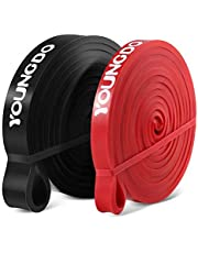 YOUNGDO Pull Up Assist Bands Mobility Resistance Band Heavy Duty for Workout Body Stretching Powerlifting Exercise Single Band or Set …