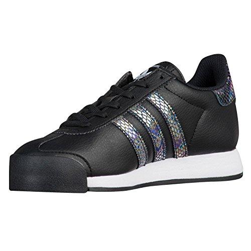 adidas Samoa Snake (Kids) Size 7 Core Black/Core Black/Frost White - Kid Snake Girl Sneaker