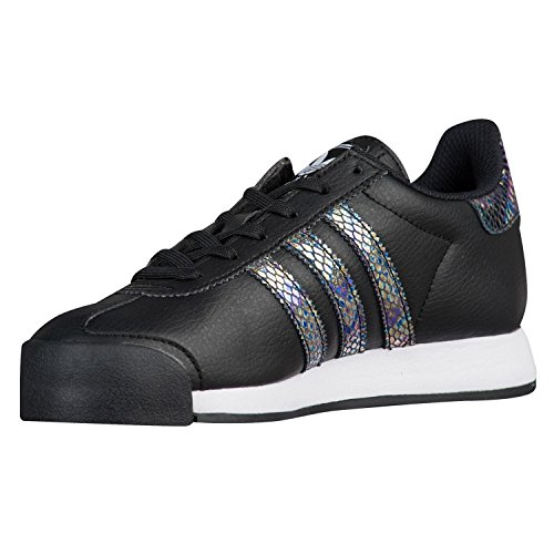 adidas Samoa Snake (Kids) Size 7 Core Black/Core Black/Frost (Kid Snake Girl Sneaker)