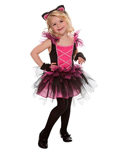 Toddler Girls Pink Sweetie Cat Costume Kitty Tutu Dress 2T