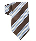 Donald Trump Signature Collection Neck Tie Brown Striped