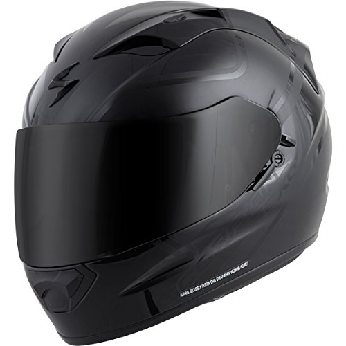Scorpion EXO-T1200 Freeway Street Motorcycle Helmet (Matte Black, Large)
