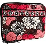 Vera Bradley E Reader Sleeve in Mocha Rouge