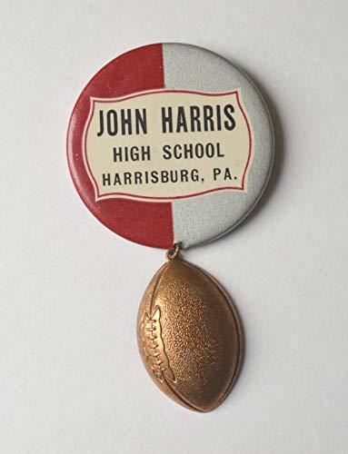 John Harris High School, Harrisburg, Pennsylvania Football Pin