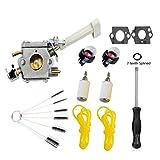 Podoy RY08420A Carburetor Replace Ryobi Bp42 Carburetor RY08420 308054079 Backpack Blower 530069247 Repower Kit
