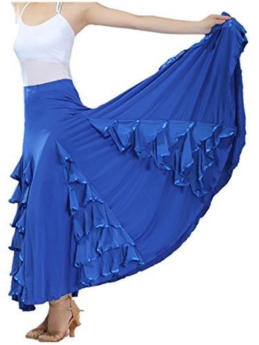 FaithYoo - Falda - relaxed - para mujer 2561# Dark blue