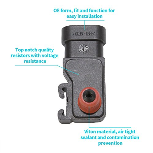1A Auto Manifold Absolute Pressure MAP Sensor for Camaro Cavalier Equinox Impala Envoy