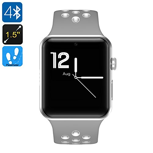 "DM09 Plus Smart Watch Phone Bluetooth 4.0 1.5"" OLED Display 1 IMEI SMS Pedometer"