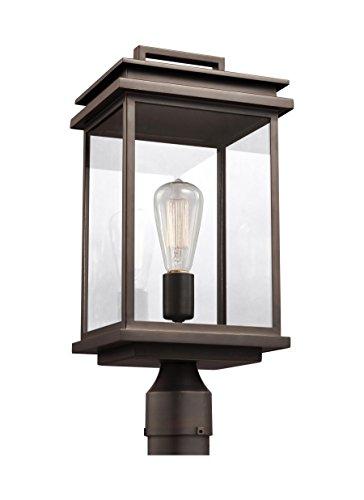 Feiss OL13607ANBZ Glenview Outdoor Post Lighting, Bronze, 1-Light (8