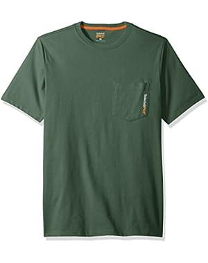 Men's Base Plate Blended Short-Sleeve T-Shirt