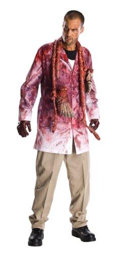 [The Walking Dead Adult Rick Grimes Set, White, Standard] (Mens Walking Dead Rick Grimes Costumes)