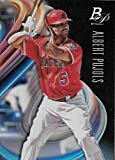 2018 Bowman Platinum Baseball #66 Albert Pujols NM-MT Los Angeles Angels Official MLB Trading Card