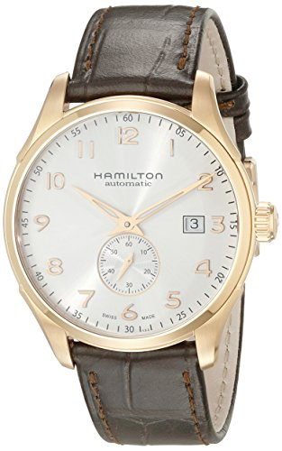 Hamilton Men's H42575513 Jazz Master Maestro Analog Display Swiss Automatic Brown Watch