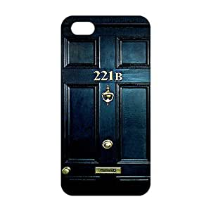 Sherlock Holmes Door 221B 3D For SamSung Note 2 Phone Case Cover