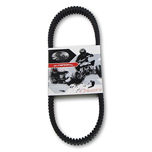 Gates Drive Belt 2008-2012 Polaris Ranger RZR 800 G-Force C12 Carbon Fiber CVT Heavy Duty OEM Upgrade