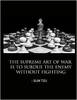 Art Of War Sun Tzu Quote Chess Journal Notebook Diary ...