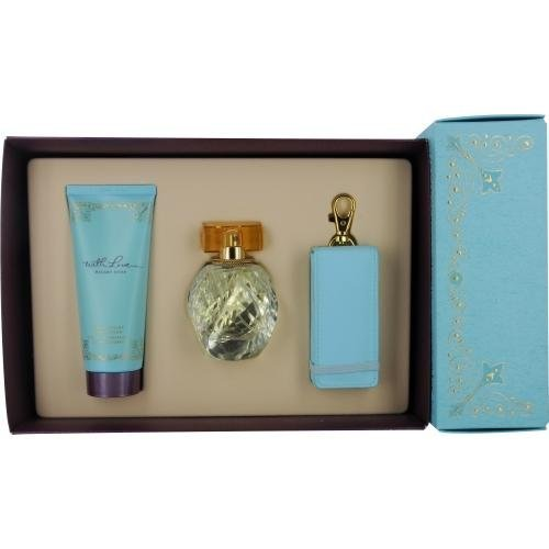 Hilary Duff With Love Gift Set - With Love Perfume By Hilary Duff for Women - 3 Piece Gift Set - 1.7 Eau De Parfum Spray, 3.4 Body Lotion, 1 Mp3 Case